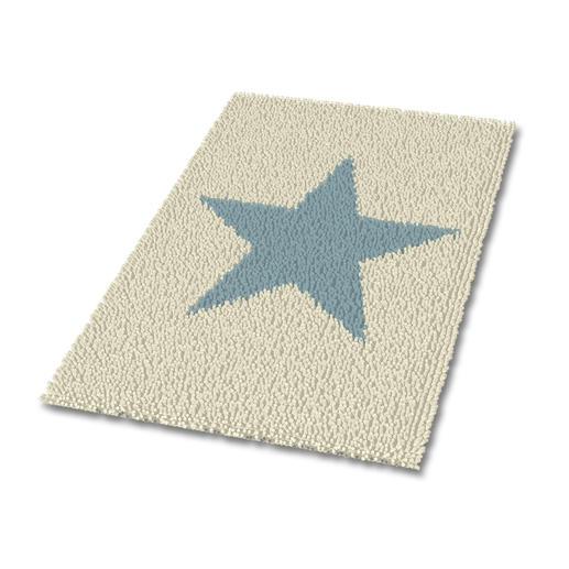 Teppich - Blue Star