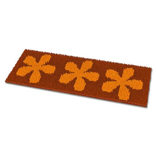 Fußmatte - Flower Kupfer