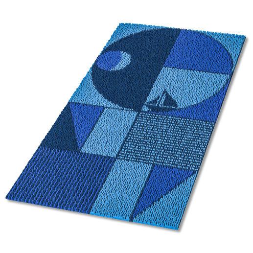 Teppich - Blaue Stunde