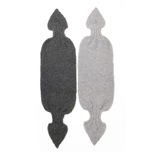Anleitung 016 Kinda Bow, kurzer Schal aus Air von WOOLADDICTS by Lang Yarns