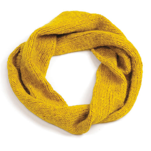 Anleitung 037 Miss Sunshine, Loop aus Air von WOOLADDICTS by Lang Yarns