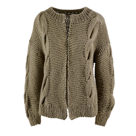 Anleitung 020 Sweet Desires, Jacke aus Happiness von WOOLADDICTS by Lang Yarns
