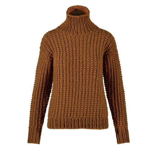 Anleitung 003 Be Golden, Pullover aus Fire von WOOLADDICTS by Lang Yarns