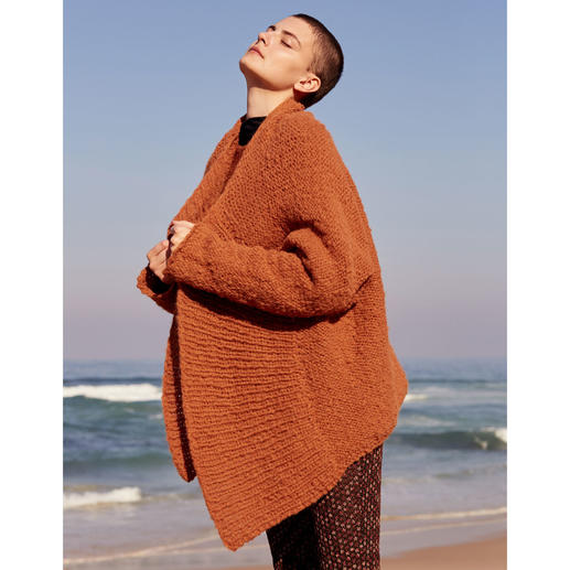 Anleitung 005 Like Lava, Jacke aus Trust von WOOLADDICTS by Lang Yarns