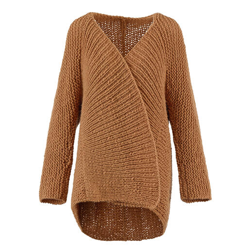 Anleitung 039 Let-It-Go, Jacke aus Hope von WOOLADDICTS by Lang Yarns