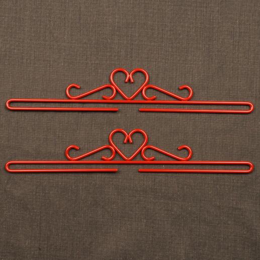 2 Metallbeschläge im Set, Breite 32 cm