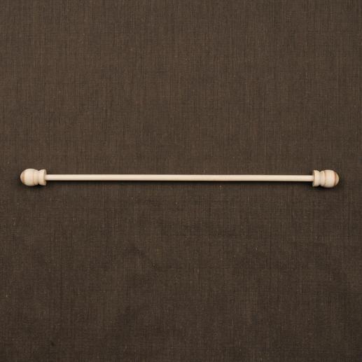 Zierstange aus Holz, 32 cm lang