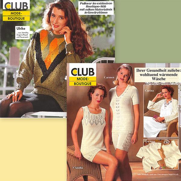 Pullover im Boutique-Stil und warme Unterwäsche – die Highlights vergangener Jahrzehnte.