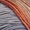 Schwarz-Grau-Orange-Beige