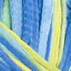 Blau-Wasserblau-Zitronengelb