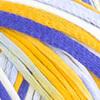 Weiß-Blau-Senfgelb-Nachtblau