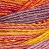 Rot/Orange/Blauviolett/Gelb