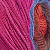 Nachtblau/Blauviolett/Zyklam/Bordeaux/Braunorange/Rotbraun/Pink