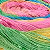 Gelb/Grün/Lachs/Pink/Jade/Blau/Türkis - breite Farbblöcke