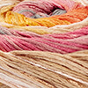 Natur/Beige/Rosenholz/Gelb/Orange/Grau - breite Farbblöcke