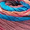 Lachs/Pink/Antikviolett/Blau/Brombeer/Türkis - breite Farbblöcke