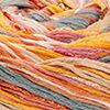 Natur/Beige/Rosenholz/Gelb/Orange/Grau - dünne Streifen