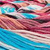 Lachs/Pink/Antikviolett/Blau/Brombeer/Türkis - dünne Streifen