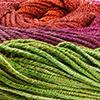 Fuchsia/Rot/Grün