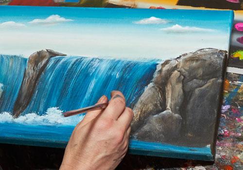 Workshop Acrylfarben